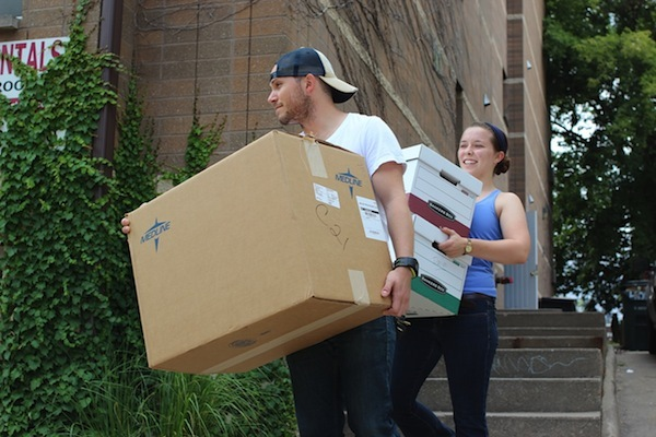 UW working to reduce move-out waste