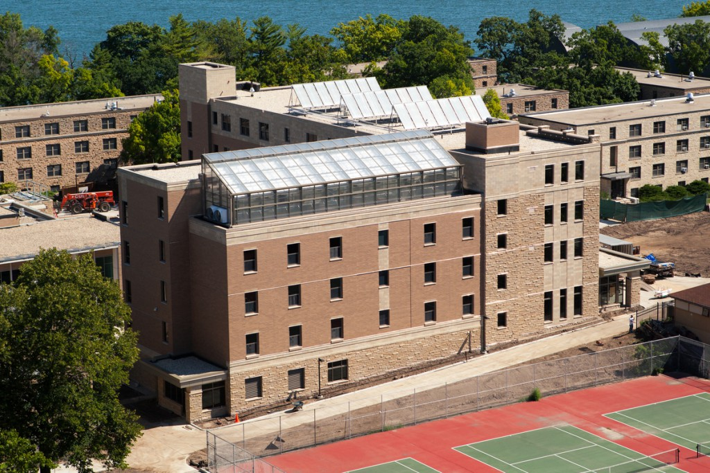 University Calendar Design : Uw madison s newest residence hall achieves leed gold