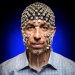 Electrical and computer engineering Professor Barry Van Veen wears an electrode net used to monitor brain activity via EEG signals. His research could help untangle what happens in the brain during sleep and dreaming. Photo: Nick Berard
