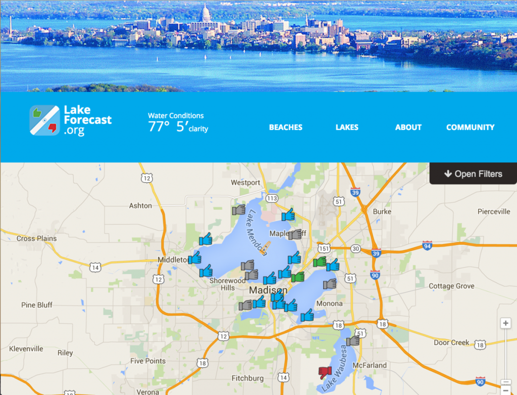 New Online Tool Puts Madison Lakes On The Map