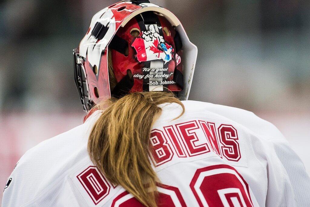 Wisconsin goalie Ann-Renée Desbiens