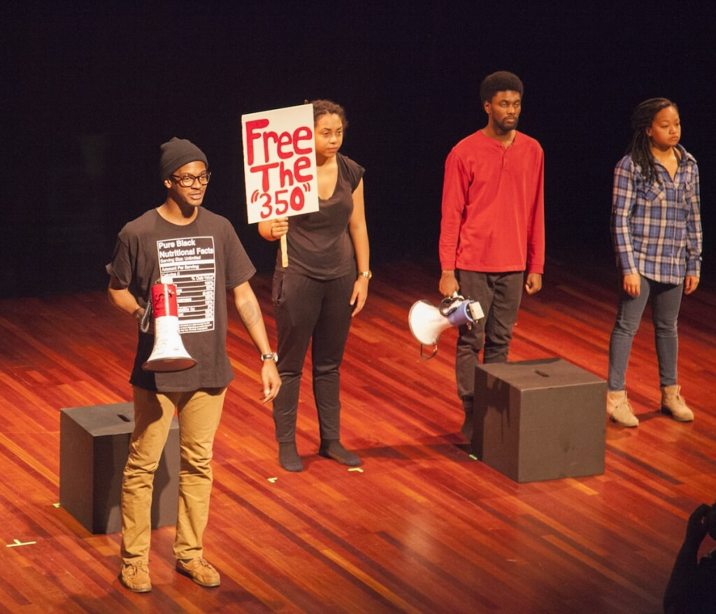 "Students perform in ""We the 350"""