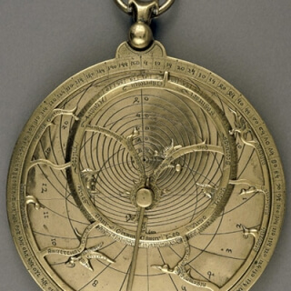 An astrolabe, a two-dimensional model of the heavens, allows its user to tell time, survey land and predict the movement of celestial bodies.