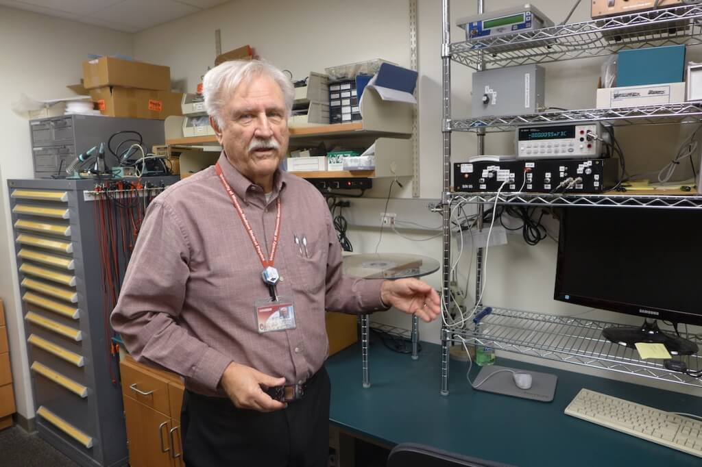 Larry DeWerd, a professor of medical physics at UW–Madison, directs the University of Wisconsin Radiation Calibration Laboratory, which tests and calibrates radiation-measurement devices from around the nation and beyond.