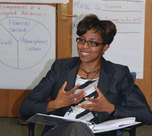 Ndidi Yaucher participates in the Professional Life Coaching certificate program.