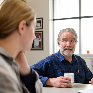 <strong>David Brow</strong>, <i> Professor of Biomolecular Chemistry, Chancellor's Distinguished Teaching Award</i><br> David Brow has been at UW-Madison since 1986. During that time, he has established himself as an enthusiastic and dedicated educator who is known to make the arcane accessible to his first-year medical students. He also helps new faculty members to feel at ease by attending their lectures and providing feedback. During the last 35 years, Brow's NIH-funded research program has made important contributions to the field of RNA biology, and his expertise is highly sought after in the United States and around the world.