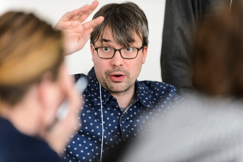 David Gagnon serves as program director for the Field Day Lab, a collaboration of researchers, educators, software developers, artists and storytellers engaged in creating new mobile media, game design and simulation.