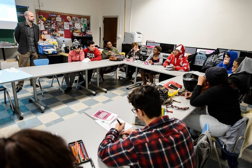The Great World Texts program is being taught this year by about 60 teachers at 22 high schools of all types around the state — large and small, rural and urban, public and private.