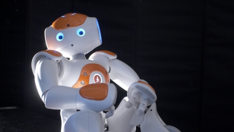 Mutlu and colleagues use Jack the Robot to explore prototype dialogue-based interactions between a robot and its users.