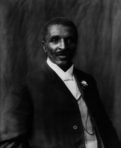 George Washington Carver, photographed by Frances Benjamin Johnson c. 1906.