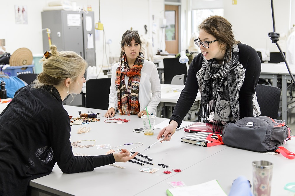 Students work during a Design Studies 501 class in the School of Human Ecology. SoHE's implementation of the CLI Leadership Framework has directly benefited students, faculty and staff.