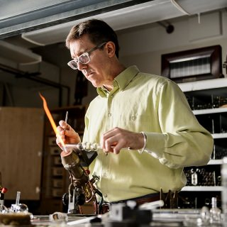 Tracy Drier, senior instrumentation specialist in the Department of Chemistry, is the recipient of the 2016 Chancellor's Award for Excellence in Research: Critical Support.