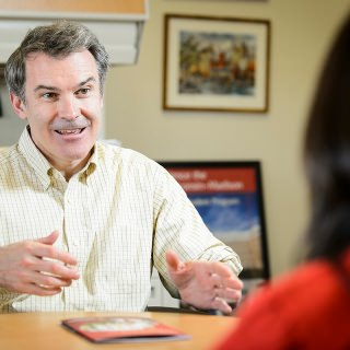 Martin Rouse, assistant dean of Adult Career and Special Student Services in the Division of Continuing Studies, is the recipient of the 2016 Chancellor's Award for Excellence in Service to the University.