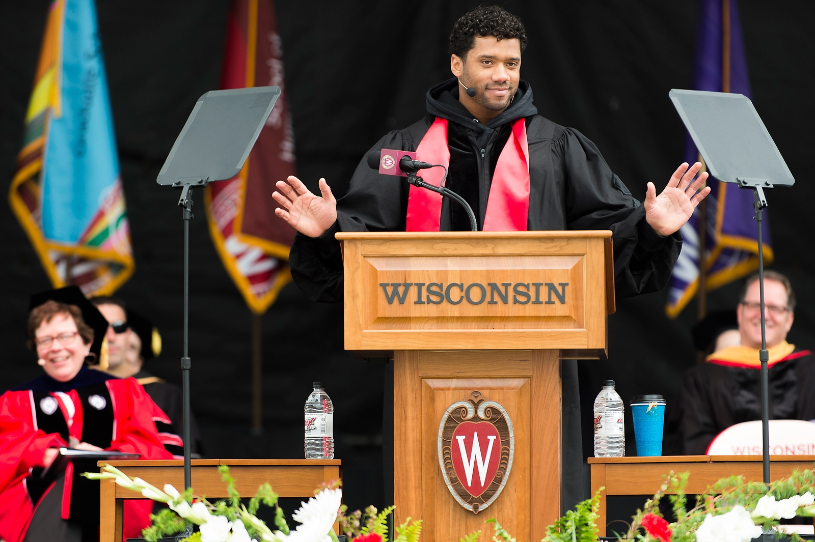 Cheers Despite The Chill At Uw Madison Commencement Saturday