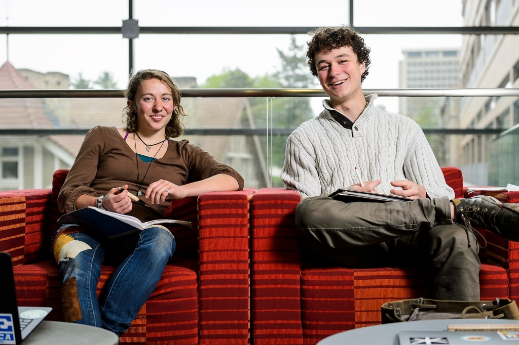UW-Madison undergraduates Megs Seeley and Miles Tryon-Petith are among 60 college students nationwide named recipients of the 2016 Udall Scholarships in recognition of their commitment to environmental issues.