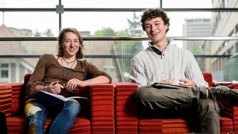 UW-Madison undergraduates Megs Seeley and Miles Tryon-Petith are among 60 college students nationwide named recipients of the 2016 Udall Scholarships in recognition of their commitment to leadership, service and environmental issues.