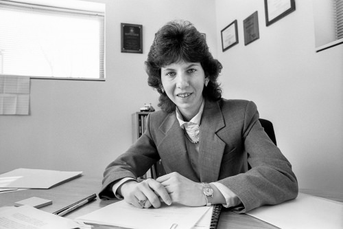 Photo: Sue Riseling in 1991