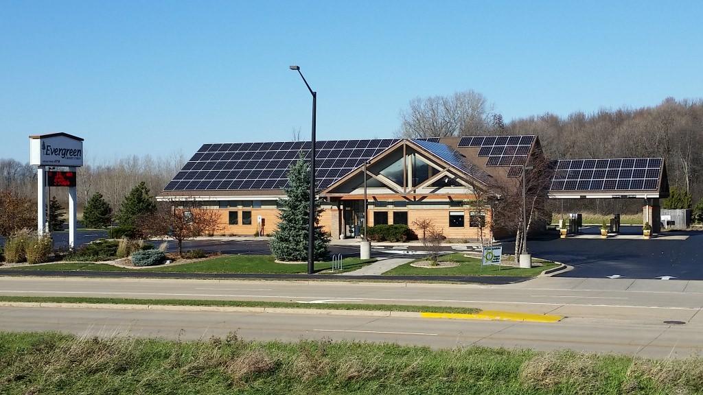 Photo: Evergreen Credit Union building