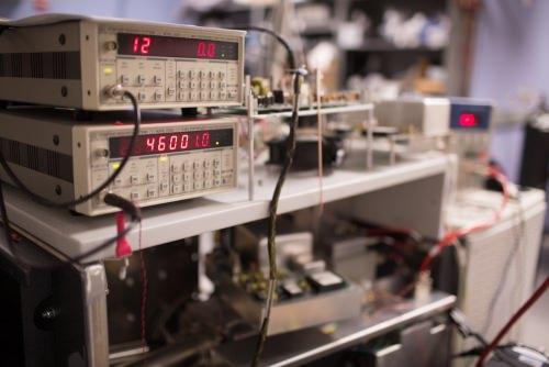 Photo: Mass spectrometer