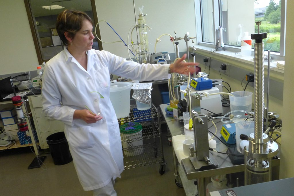 Melissa Suzuki at Aldevron explains a membrane-based flow filtration system that quickly reduces the volume of a solution using low-pressure osmosis.