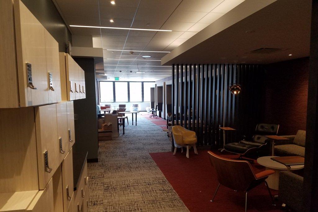 Photo: Grad student study area