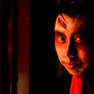 Student Jon Silignavong portrays Heibai Wuchang.
