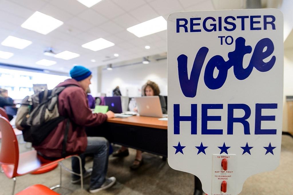 Voting under way on campus