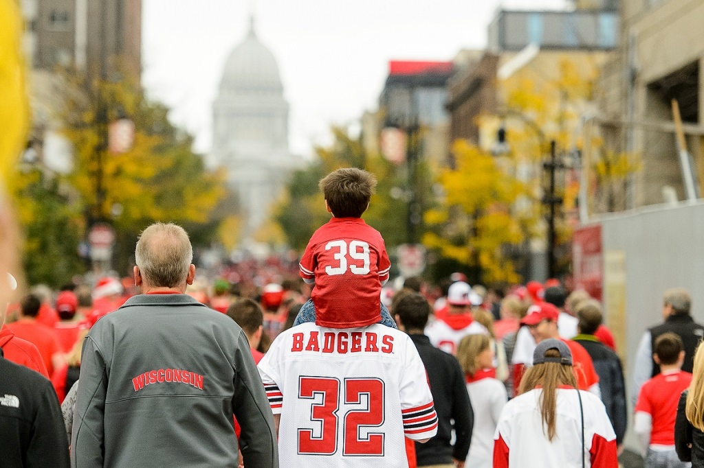 Some fans may need a nap before the 7 p.m. kickoff at Camp Randall.