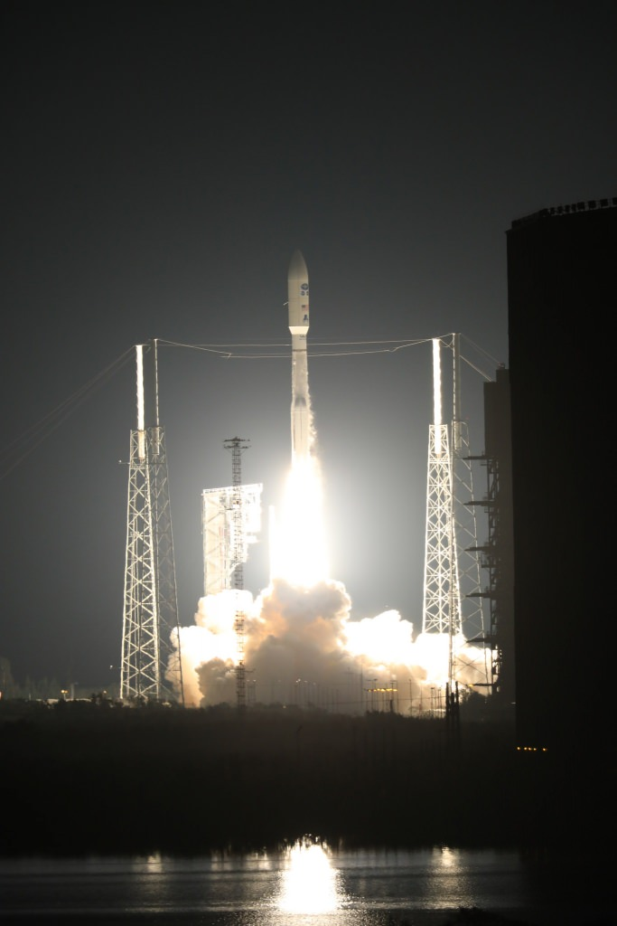 GOES-R, the first in the next generation of geostationary weather satellites from NOAA, successfully lifted off from Cape Canaveral, Florida, on Nov. 19 CREDIT NOAA,