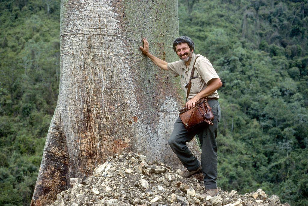 Photo: Hugh Iltis in Ecuador