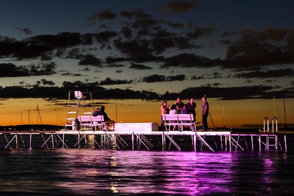 Photo: Terrace swimming pier