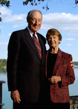 Photo: Albert and Nancy Nicholas in 2004.