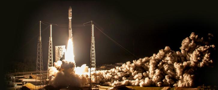 Photo: Rocket launch