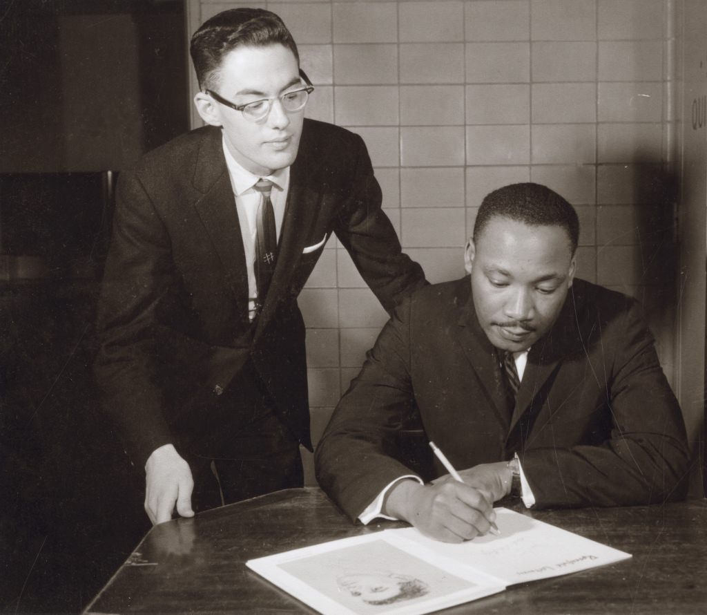 Photo: Martin Luther King Jr. at Memorial Union