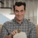 Photo: TV character Phil Dunphy opening envelope