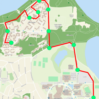 Several routes on UW–Madison campus roads could serve as test tracks for autonomous vehicles as part of the Wisconsin AV Proving Grounds.