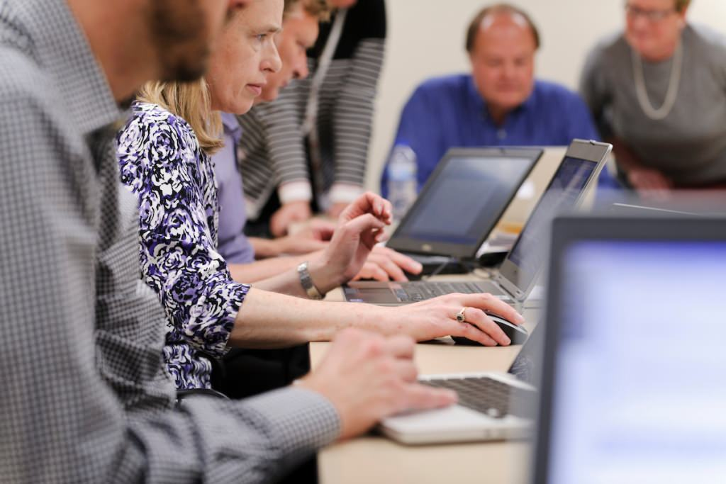 Photo: Administrative Improvement webchat