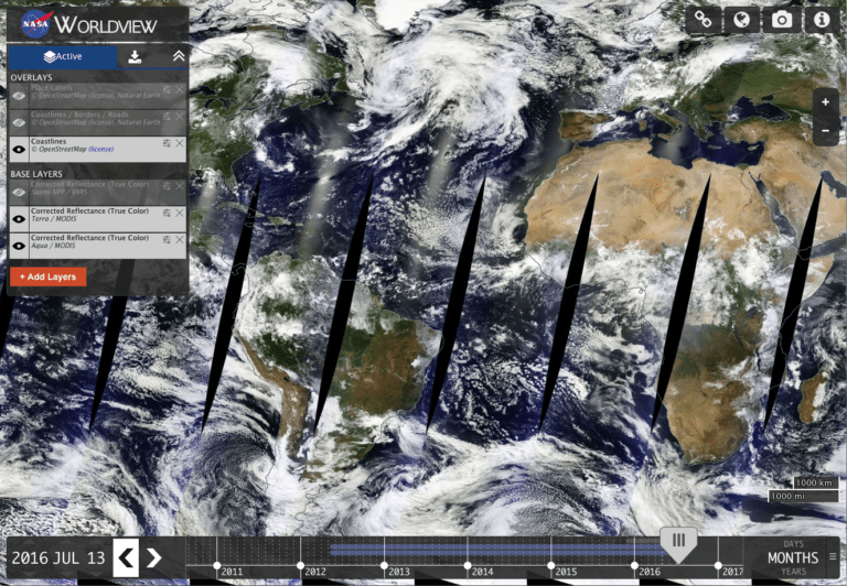 Photo: Screen shot from NASA HAQAST webpage