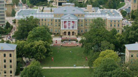 Photo: Aerial view of Bascom Hall