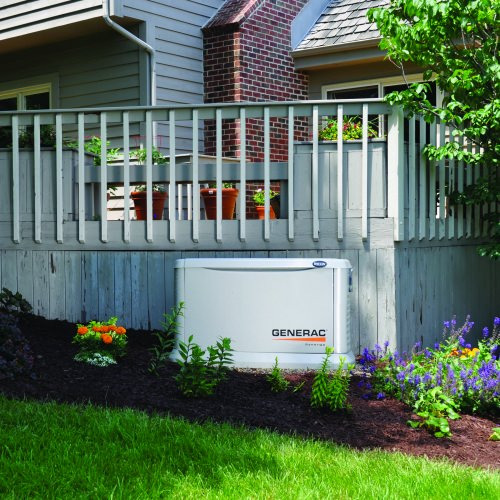 The engine in the Synergy line of home standby generators can run slow and quiet, depending on how much power the home requires. WEMPEC alumnus Tod Tesch played a key role in engineering the Synergy generators.