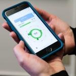 An energy analysis app for a smart phone.