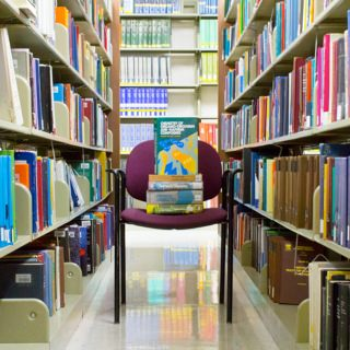 The Chemistry Library, which has 29,000 volumes and extensive electronic resources, is closed for construction and will reopen in 2019 as Chemistry Information Commons.