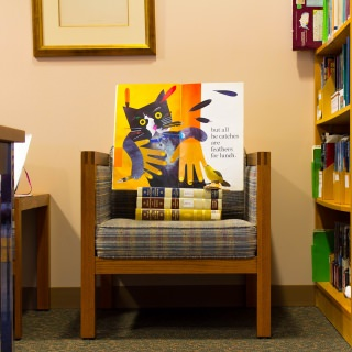 The Arboretum Research Library has books about plants, animals, birds, ecosystems and ecology.