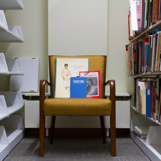 The Ruth Ketterer Harris Library's collection is devoted to the study of textiles and design. It's located in the School of Human Ecology.