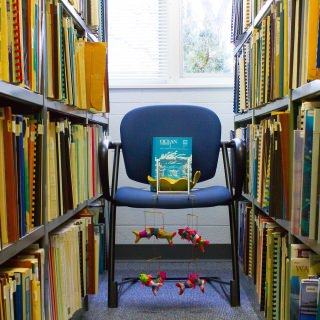 The Wisconsin Water Library has a collection of 30,000 volumes about the waters of Wisconsin and the Great Lakes.