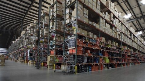 More than 200,000 unique items, many of them shoes, are stored in Foot Locker's 10-acre warehouse outside Wausau.