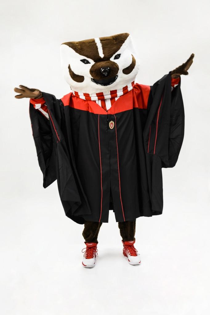 Mammal. Mascot. Supermodel. Our favorite fashion-forward Badger ...