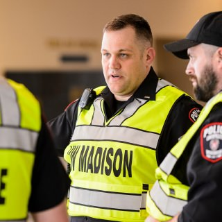 Mark Silbernagel has been employed at the University of Wisconsin-Madison Police Department since 1999. In that time he has been part of numerous committees and specialty units that promote health, safety and wellness for officers and the campus community. Currently, Silbernagel is the Lieutenant of Special Events. In his role he works with UW Athletics to ensure all athletic events operate safely and smoothly. Students, staff, faculty and visitors to our community are able to attend these events and enjoy the experience in part due to all the work behind the scenes that Silbernagel has facilitated to ensure each person's safety. He coordinates with the Madison Fire Department, outside police agencies, Transportation Services and a variety of other partners to ensure there is a synergy of resources. Another part of his role as Special Events Lieutenant is to coordinate the police response to protests, UW System Board of Regents meetings, campus speakers and dignitary visits. To effectively accomplish this, Silbernagel has built strong partnerships with many agencies and is well respected in his role among law enforcement as well as community partners.