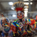 Photo: Young dancer at powwow