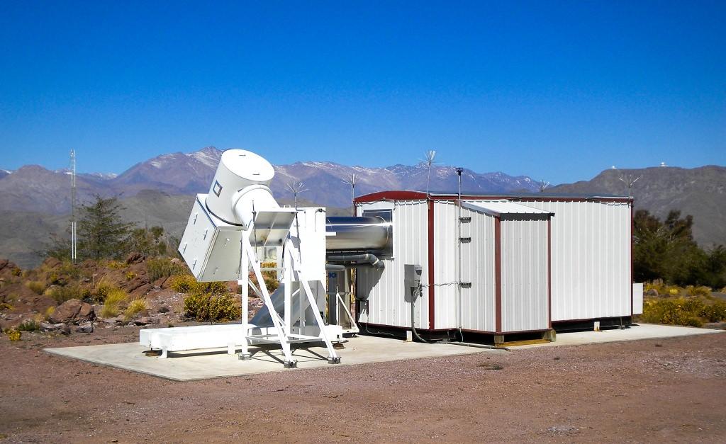 Photo: WHAM spectrometer